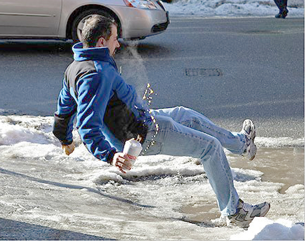 Slip and Fall Accidents on Icy Surfaces